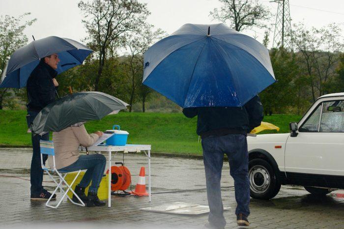 """17 Novembre - """"se piove vengo lo stesso !"""" con gli amici del Club Montalbano - prova del campionato sociale"""