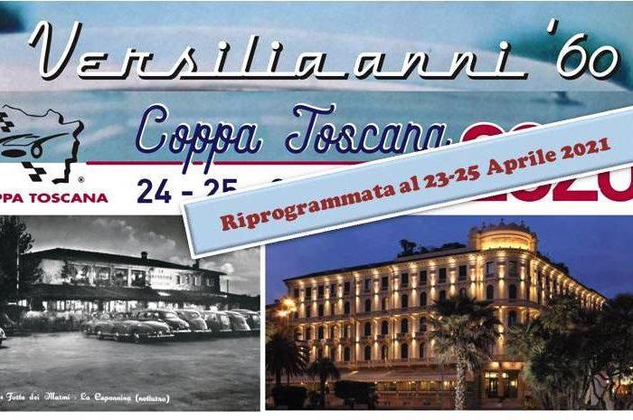 XXV Rievocazione della Coppa Toscana  – per la emergenza COVID-19 la manifestazione 2020 deve essere riprogrammata.