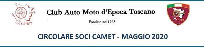 Circolare Soci CAMET Maggio 2020