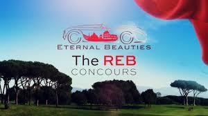 """REB Concours a Roma - """"best of show"""" la Cisitalia del Presidente del CAMET"""