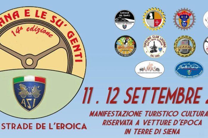 """11-12 Settembre 2021 - """"La Toscana e le su' genti"""""""
